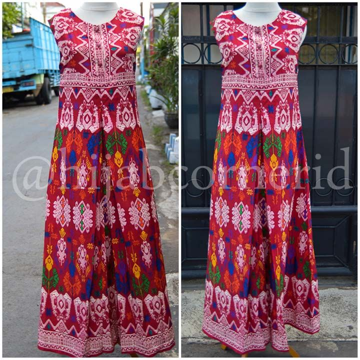 Dress Etnik Tradisional Bali Hijabcornerid Collection