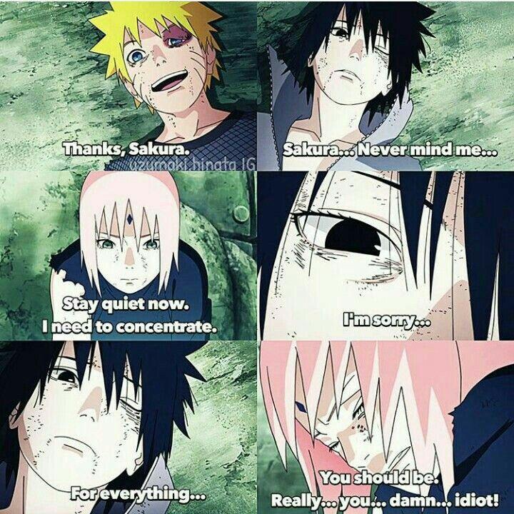 Naruto, Sasuke, & Sakura – Team 7 Together again