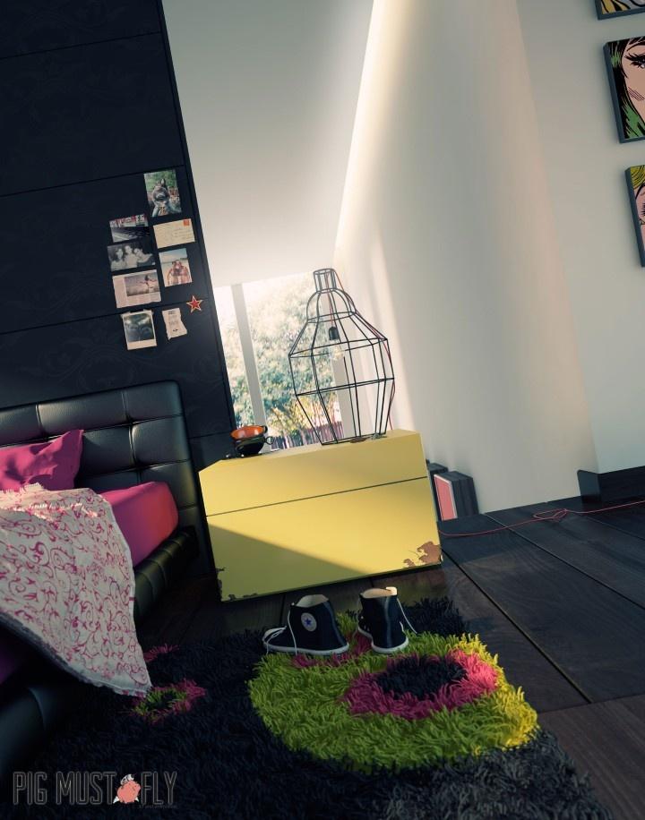 3D render for interior visualization / Render 3D para visualizacion arquitectonica para interiores y exteriores