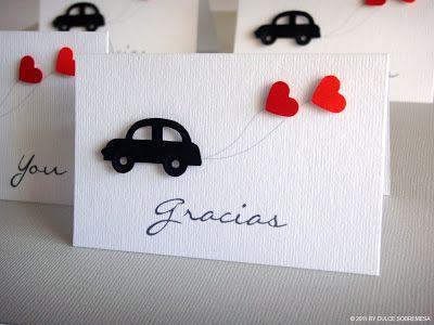 DULCESOBREMESA: Tarjetas de agradecimiento / Thank you cards