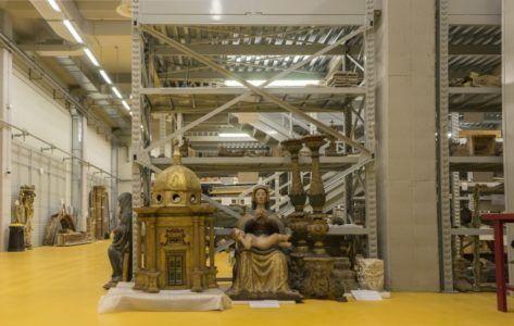 Spoleto, visite guidate al Deposito per i Beni Culturali di Santo Chiodo