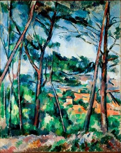 """HowStuffWorks """"Landscape near Aix, the Plain of the Arc River by Paul Cezanne"""" @ http://entertainment.howstuffworks.com/arts/artwork/paintings-by-paul-cezanne5.htm"""