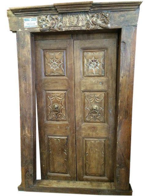 Antique Carving Door Frame Teak Vintage Peacock Rajasthani Door Indian  Furniture - 49 Best Vinatge Doors Images On Pinterest Antique Furniture