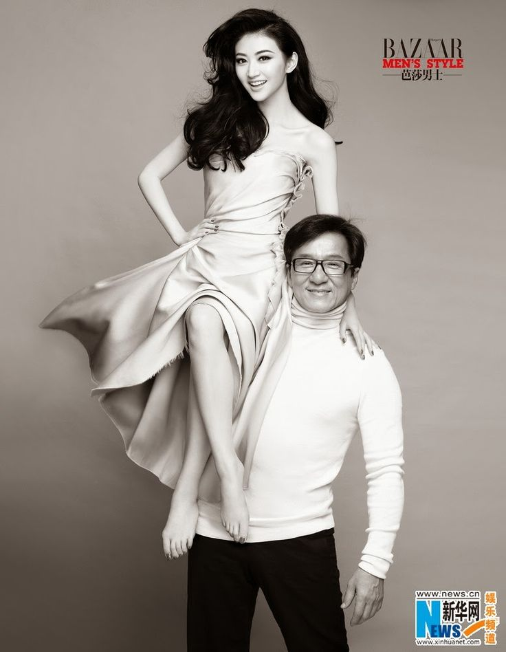 Jackie Chan and Jing Tian cover 'Bazaar Men's Style' magazine | China Entertainment News