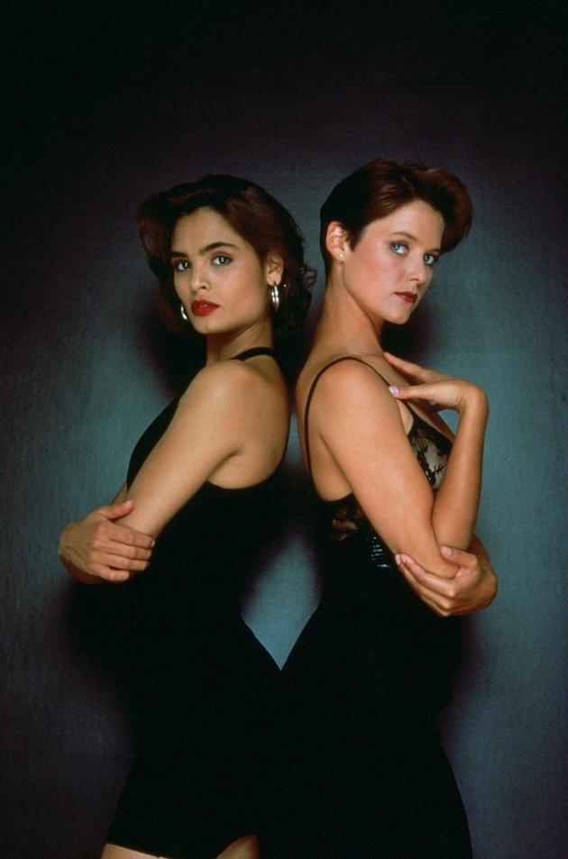 Bond girls. Talisa Soto and Carey Lowell 1989