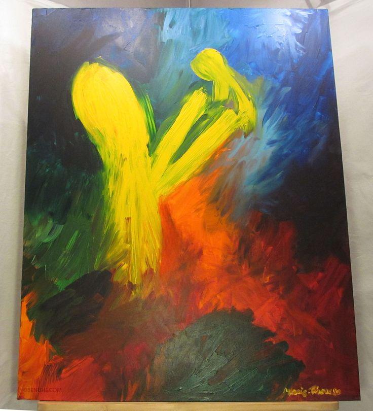 DAD100x80cmAcrylic paint on canvas