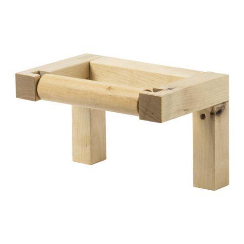 IKEA Molger birch toilet roll holder, $3.99