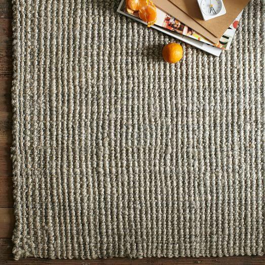 http://www.westelm.com/products/jute-boucle-rug-platinum-b744/?pkey=csolid-rugs-flooring  
