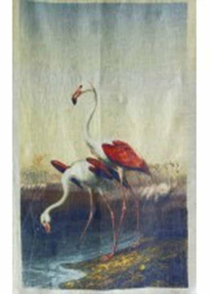 Flamingo Wall Panel 200x150cm