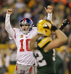 The Giants/Packers game kicked my team out of the possibility for a Superbowl Ring. I cried a little.