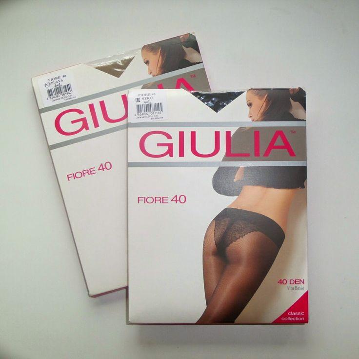 100 packs of tights: Прозрачные нейлоновые Giulia в двух оттенках