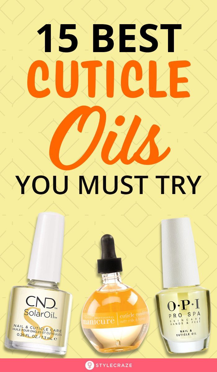 46+ The best cuticle oil trends