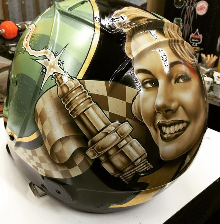 If you like a healthy dose of realism in your artwork, then you'll love the lifelike designs created on the motorcycle helmets featured on the Gasolineart Instagram profile. This artist, Darren Wenzel, is truly a one of a kind talent. Based in Fort Worth, Texas, Darren's custom paint business not only does wonderful motorcycle helmet …