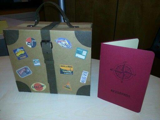 Geschenkverpackung mit Details aus SnapPap