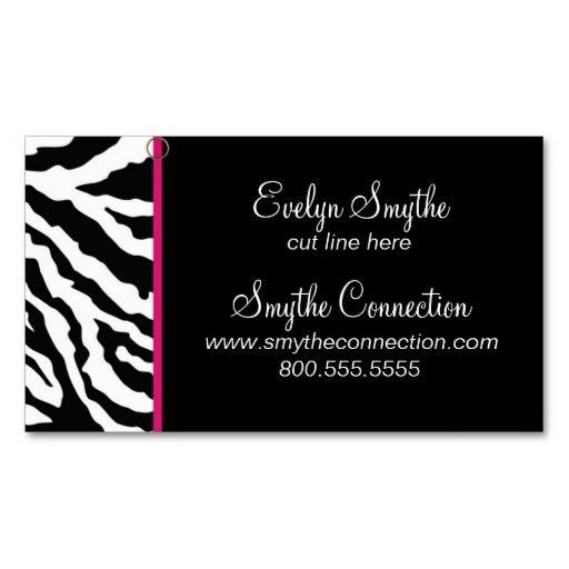 11 best business images on pinterest carte de visite zebra print hello zebra print business card template zebra print business card template yes i colourmoves