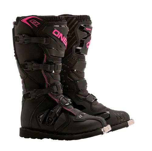 Oneal Mx Gear 2015 NEW Riders Womens Black Pink Motocross Dirt Bike Ladies Boots in Vehicle Parts & Accessories | eBay