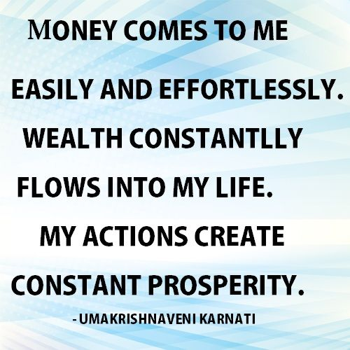 TODAY - DAILY POSITIVE AFFIRMATIONS FOR ATTRACT GOOD LUCK, MONEY, AND WEALTH IN YOUR DAILY LIFE # MOTIVATION