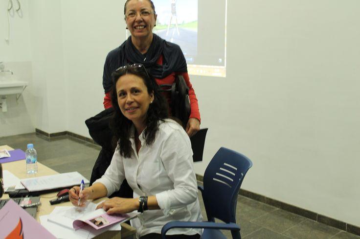 """Taller de Coaching para Mujeres. Teulada - Moraira. Firma de Libro """"Tengo algo que decir"""". Marzo 2015"""