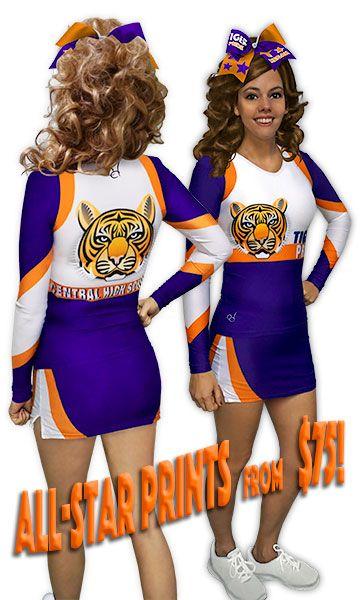 Custom Cheerleading Uniforms, Youth Cheerleading Uniforms, All-Star Cheerleading Uniforms
