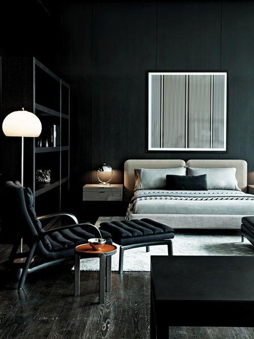 Chambre Designer acclimatés: Minotti