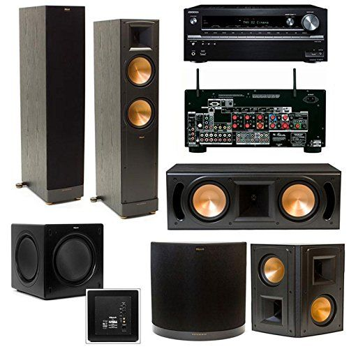 Klipsch RF-62II Home Theater System: The ultimate home entertainment system! Get it HERE: http://www.thegiftsformen.com/klipsch-rf-62ii-home-theater-system.php