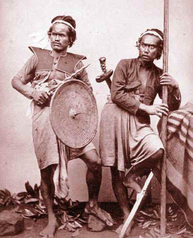 balinese warriors