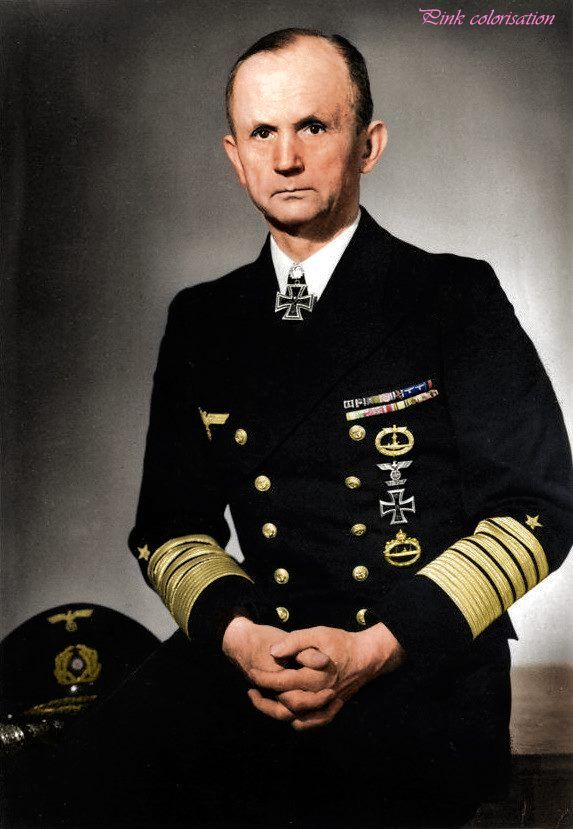 Großadmiral Karl Dönitz. 16 September 1891 - 24 December 1980 (died 89 years old)