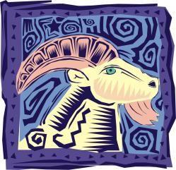 ARIES Los cuernos del carnero, en forma de espiral, simbolizan el impulso hacia la vida; el eterno empezar o el eterno renacer de la vida, de la luz, correspondientes al principio de la primavera en el ciclo de las estaciones. Por ello, el dios egipcio Amón, cuyo templo fue erigido en Karnak...