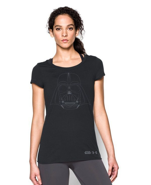 Under Armour Girls' Star Wars Darth Vader Short Sleeve T-Shirt