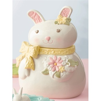 Grasslands Road� Bunny Cookie Jar #VonMaur #GrasslandsRoad #Easter #Decor #Holiday    Happy Sharing. PIN, Repin