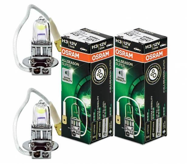 Osram H3 All Season Super 64151als Autolampe 2 Sta Ck Bild 1 Osram Lampen Licht
