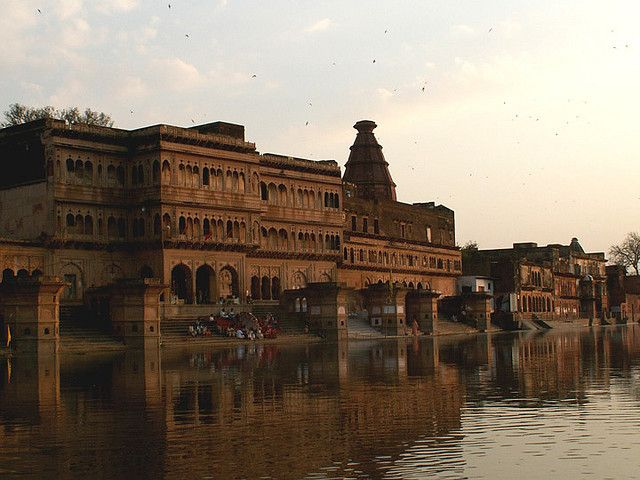 Madan Mohan Temple is oldest surviving temple in Vrindavan located at Kali Ghat on Yamuna Bank.