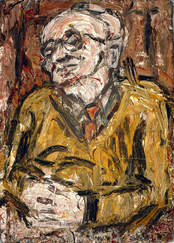 Leon Kossoff - i like the thick texture in his work