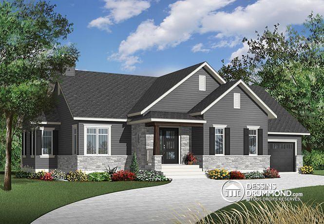 Plan de maison no. W3133-V1 de dessinsdrummond.com