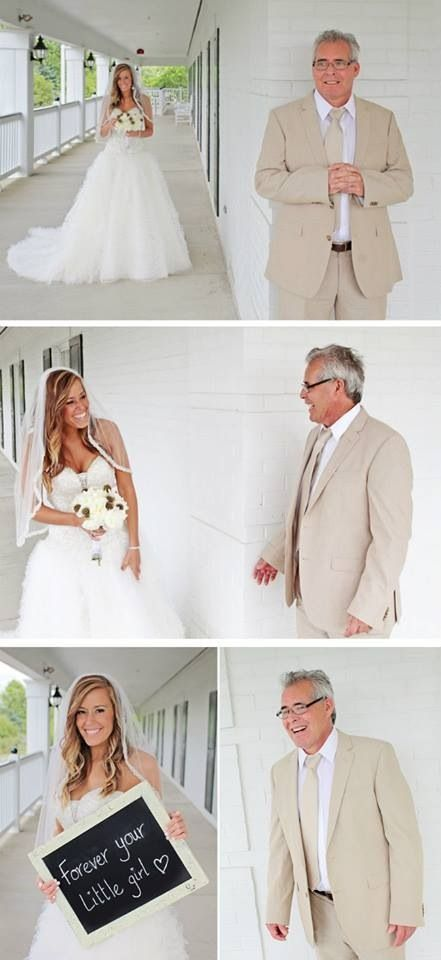 father daughter first look wedding | ... Father/daughter first look! Julian Allen Photography. Bowen wedding