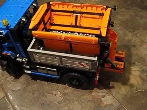 Unimog U400 und Anbaugeräte  - Lego Technic und NXT - Doktor Brick AFOL Community