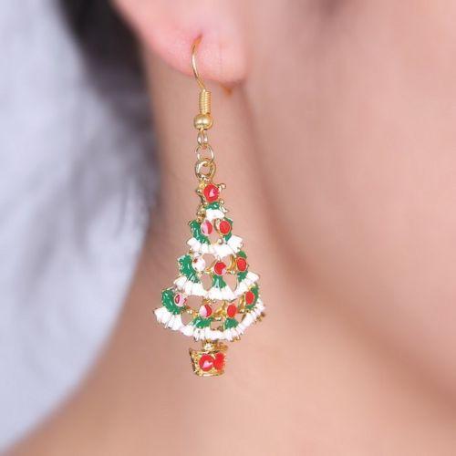 Drop Dangle Christmas Tree Earrings, just £5.99!  http://www.happiesttomato.co.uk/apps/webstore/products/show/6398734  #christmas #earrings