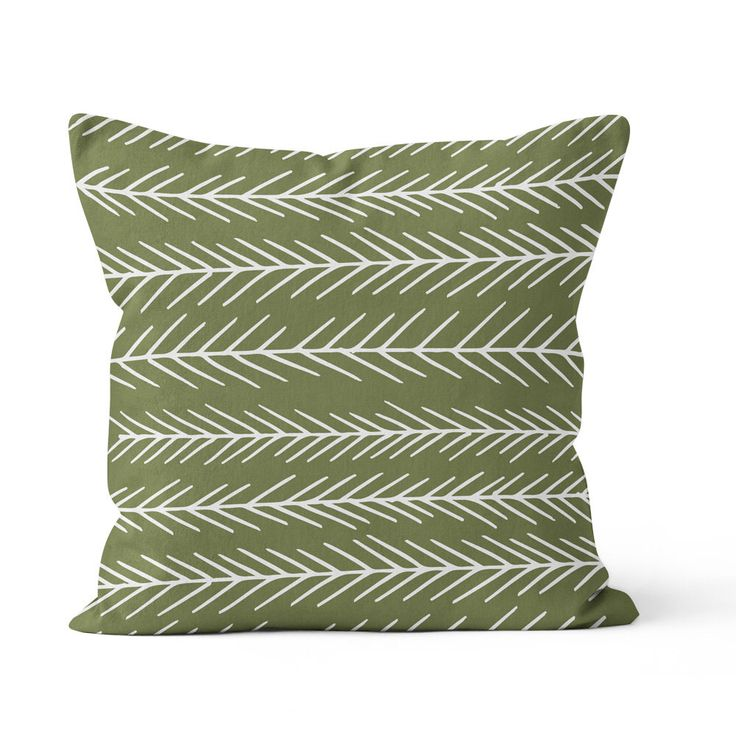 pine tree pillow cover cedar green pillow forest pillow graphic pillow