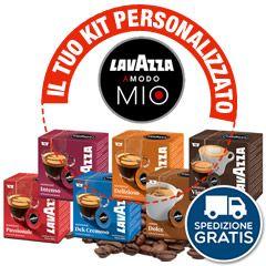 256 CAPSULE CAFFÉ LAVAZZA A MODO MIO A SCELTA
