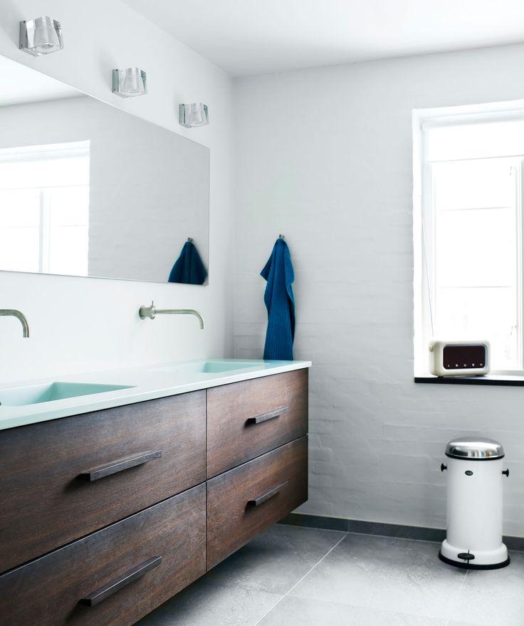 Badvaerelse In Smoked Oak Bathroom Pinterest Italia