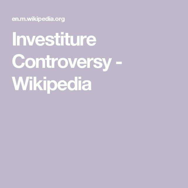 Investiture Controversy - Wikipedia