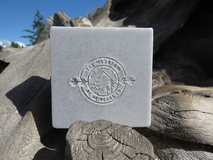 """""""WILD"""" (MENS) ~ BC Wild Glacial Clay Organic soap ~ Made by: THE MOUNTAIN: BC SKINCARE CO. for $15.00 CAD bcmnt.skincareco@gmail.com"""