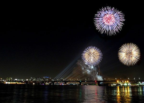 Perfect fireworks