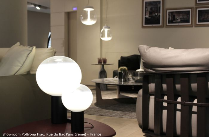 Cosy with those two #Laguna table lamps  ► http://bit.ly/1B8VLDX Discover the whole family #design Matteo Thun  ► http://bit.ly/LagunaFamily Also in the background, you will have recognized two #Empatia suspensions ► http://bit.ly/1zntZmx By Carlotta de Bevilacqua & Paola Monaco di Arianello