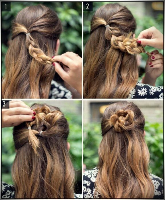 15 Easy hairstyles to go to high school that won't value you greater than 5 minutes
