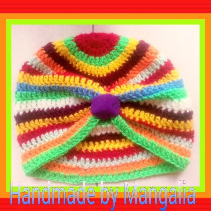 Turban crosetat