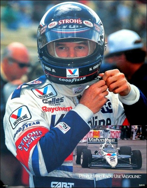 Al Unser Jr. /  Galles Racing - Indy Car Racing New.Mexico. Native Family,The Unser's.
