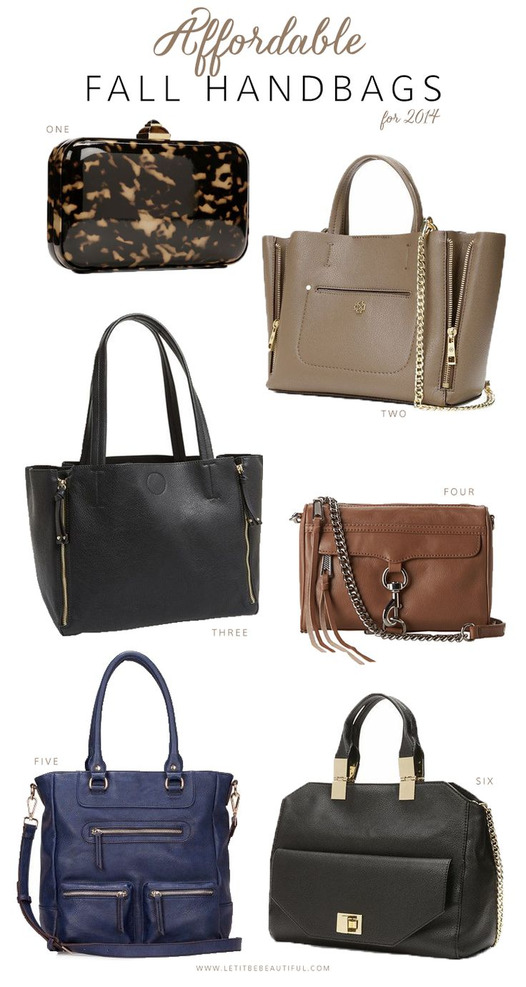 Affordable Fall Handbags, Fall Fashion, Fall Handbags