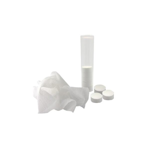 COD.BE046 Toallas comprimidas en pastillas soluble con agua.10 Unidades.