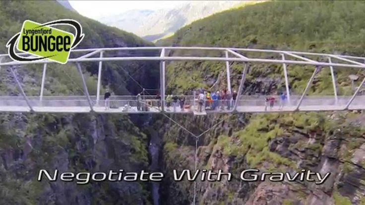 Hvis du bare én gang i livet skal hoppe i strikk - Gorsabrua er stedet å...
